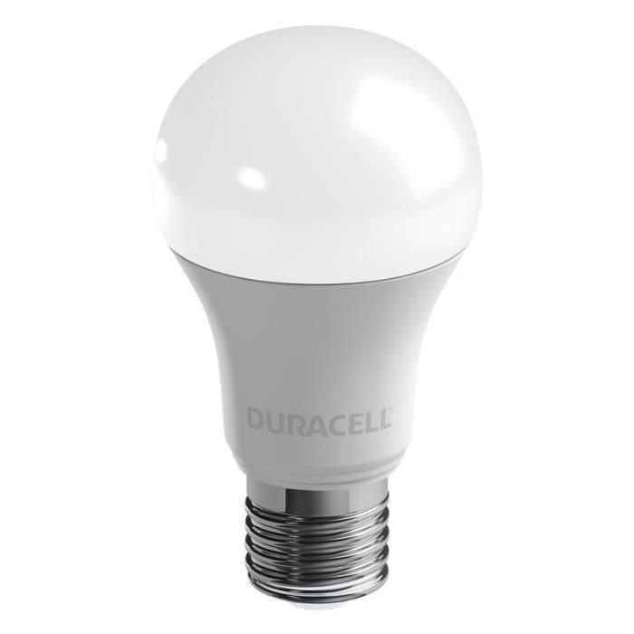 DURACELL Ampoule LED E27 11,6 W équivalent 75 W blanc chaud