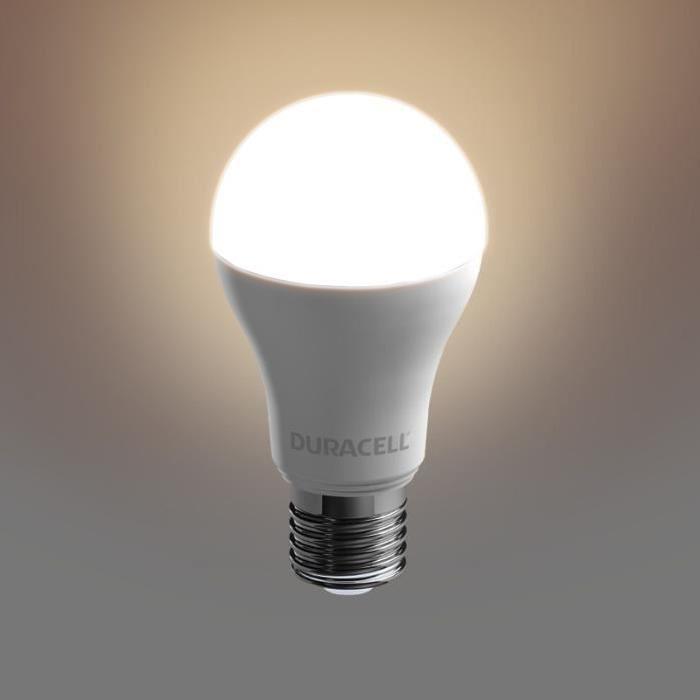 DURACELL Ampoule LED E27 12,5 W équivalent 100 W blanc chaud
