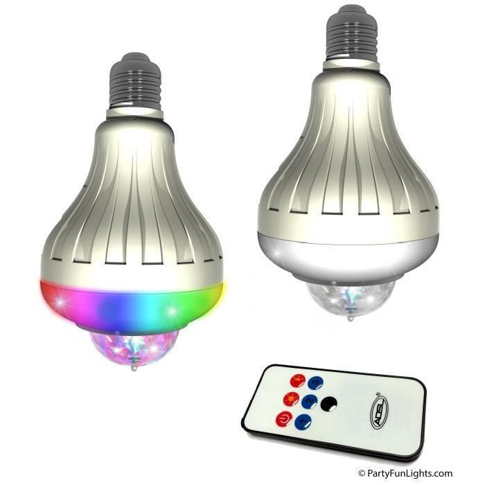 GRUNDIG Ampoule détecteur de mouvements - Intérieur & extérieur - 2 LED