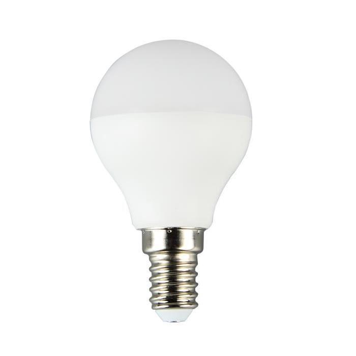 Ampoule EASYDIM LED E14 P45 5 W équivalence 25 W 400 lm avec variateur d'intensité