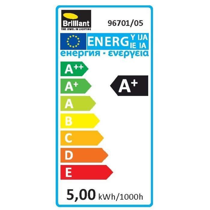 Ampoule EASYDIM LED GU10 SMD 5 W équivalence 25 W 400 lm avec variateur d'intensité