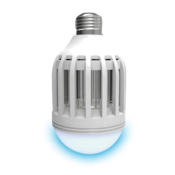 LUMISKY Ampoule LED E27 avec anti-moustique intégré 10W équivalent a 100W blanc froid