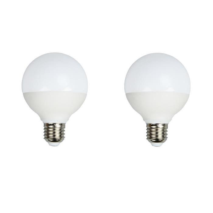 BRILLIANT Lot de 2 ampoules LED E27 C95 12 W équivalent a 60 W 960 lm avec variateur d'intensité Easydim