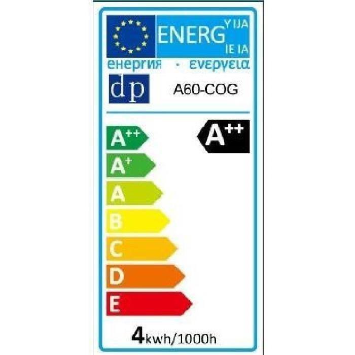 Lot de 2 Ampoules LED filament E27 Edison 4 W équivalent a 40 W blanc chaud