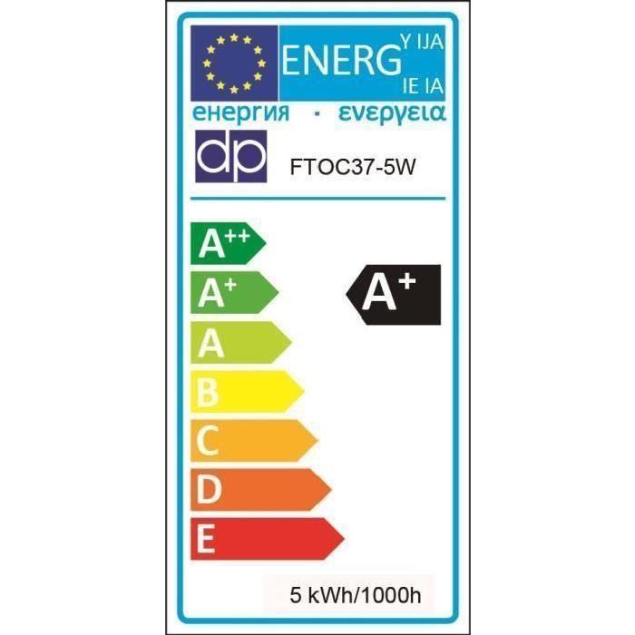 Lot de 2 Ampoules LED E14 5 W équivalent a 40 W blanc neutre
