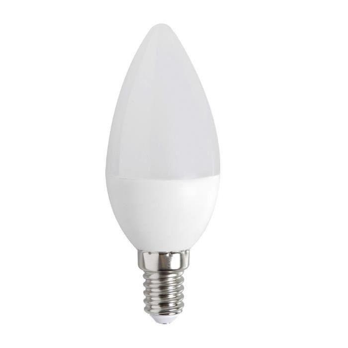 EXPERT LINE Lot de 5 ampoules LED E14 réflecteur 3 W équivalent a 25 W blanc chaud